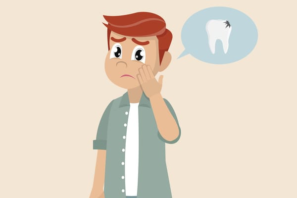 Đau răng do mẻ răng